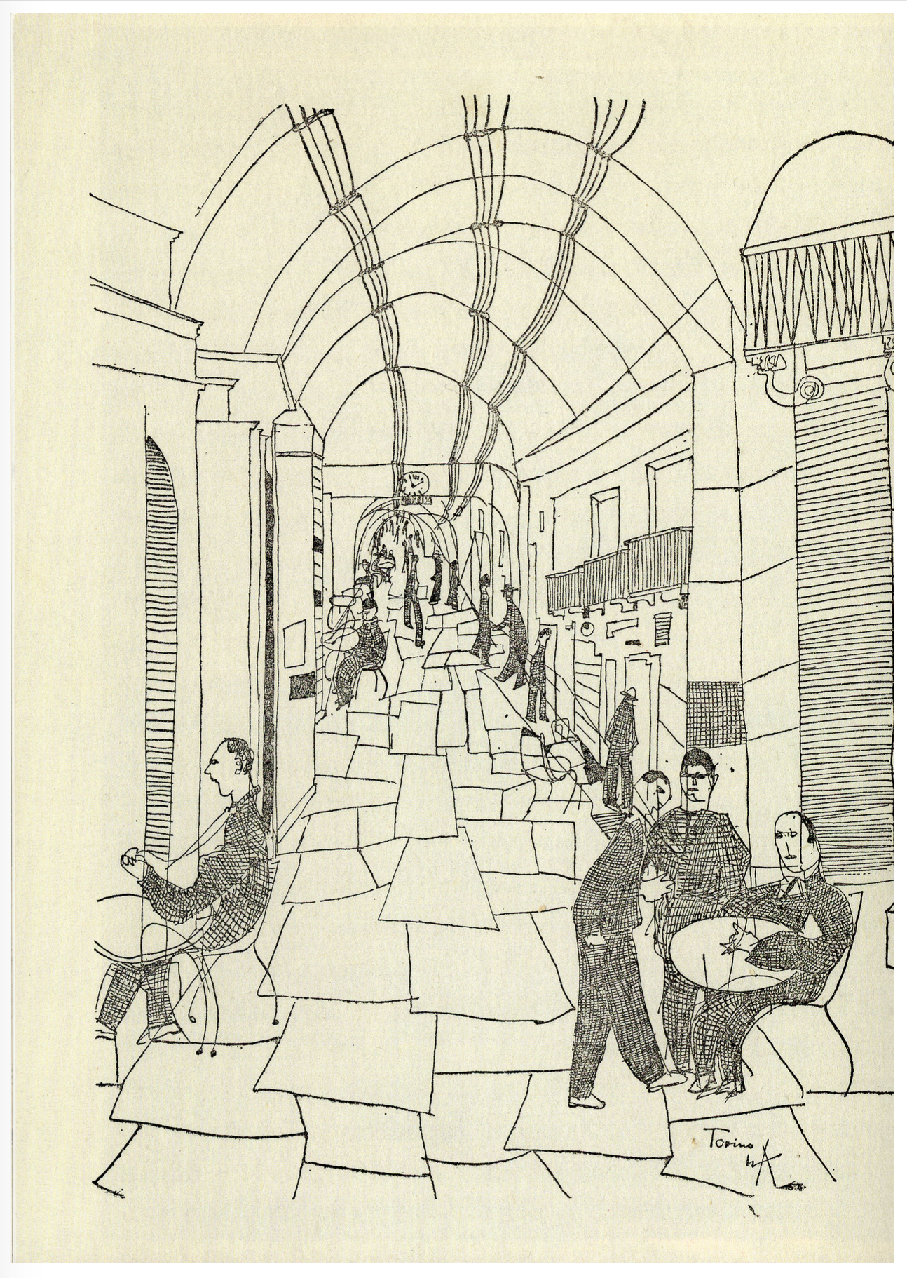 "Da: Lucius Burckhardt, ""Reise ins Risorgimento""."