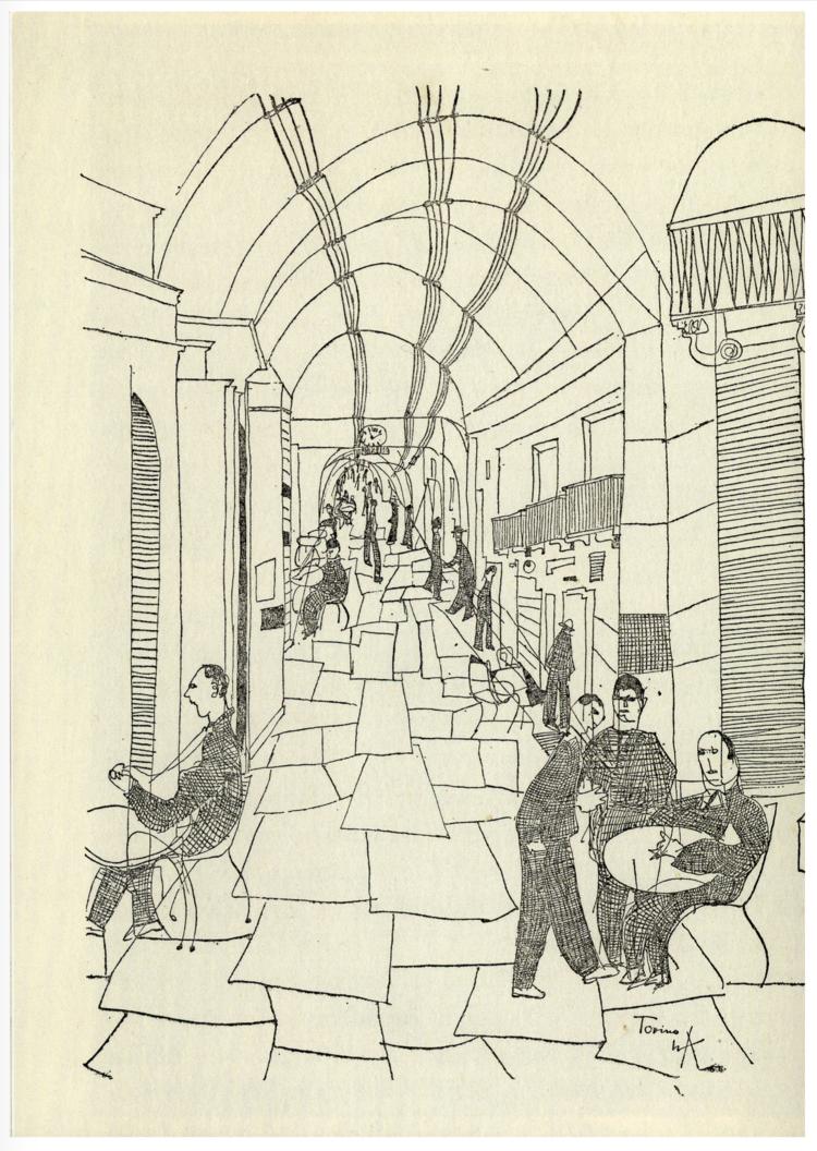 """De: Lucius Burckhardt, """"Reise ins Risorgimento""""."""