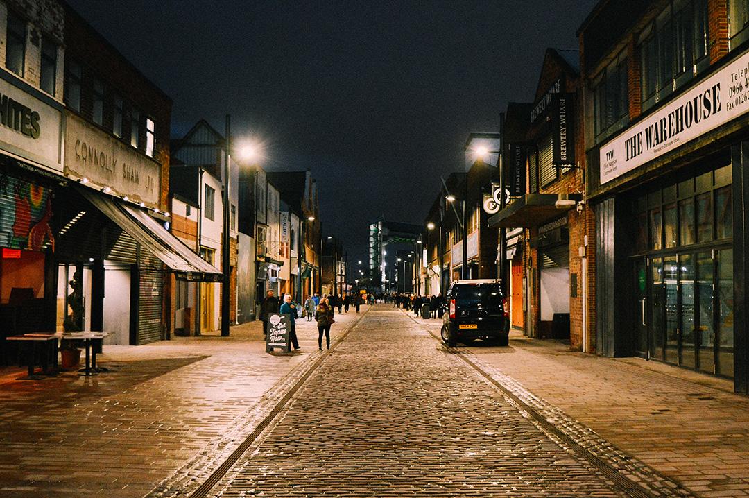 Humber Street - 5 min walk