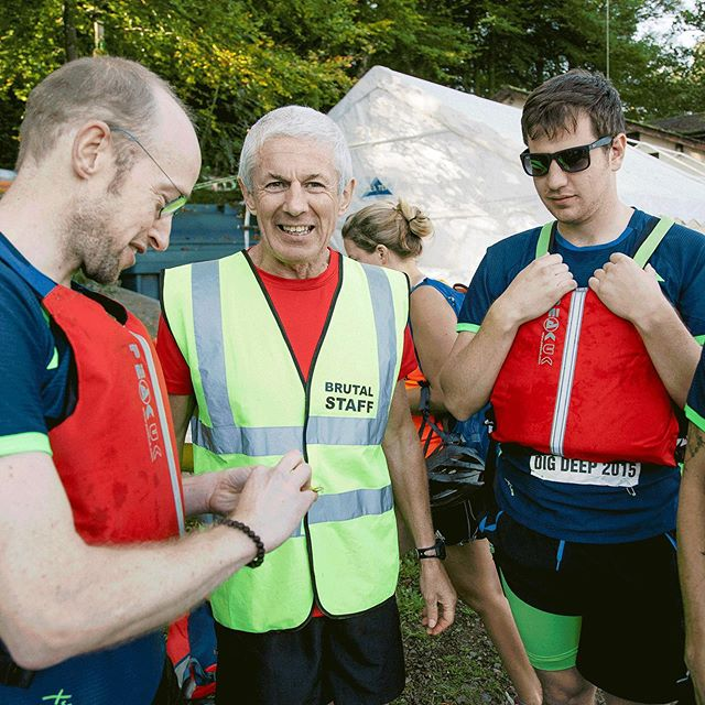 Ignore what it says on his vest. They're lovely really. . #lakedistrict #keswick #adventurerace #adrenaline #adventure #extremesports #fun #nature #extreme #fitness #construction #digdeeperrace #digdeeper