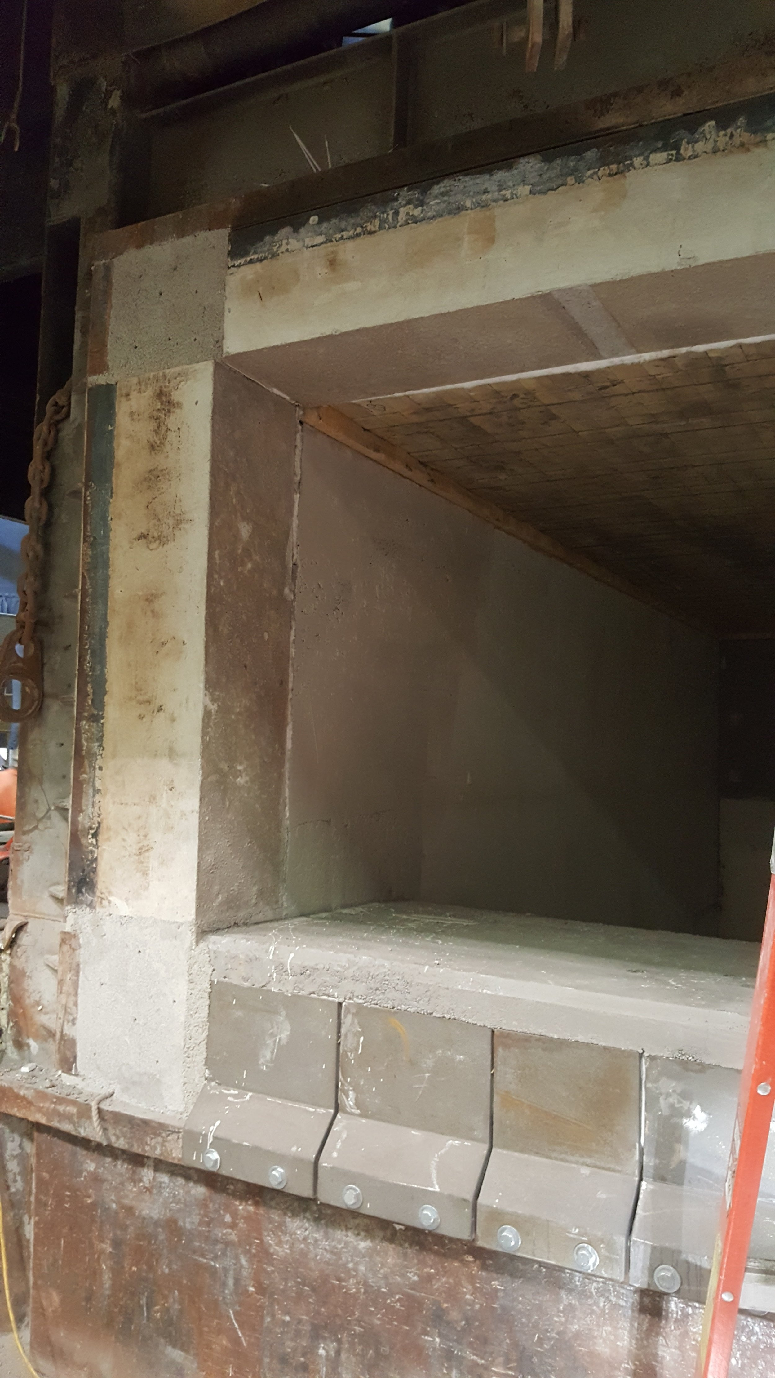 Installed Lintels and Jambs