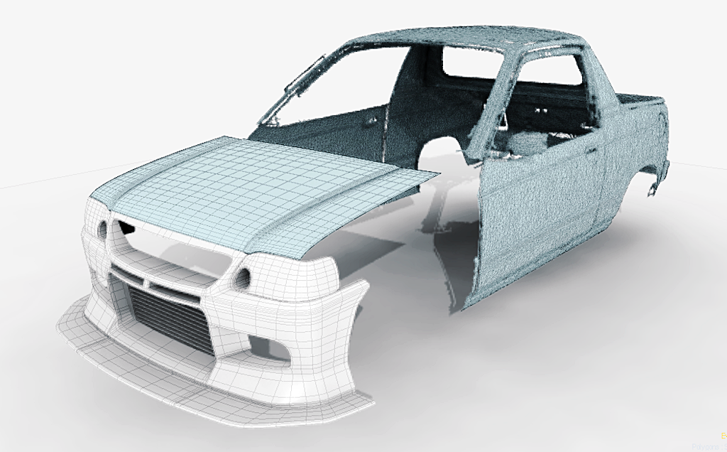 3D Scanned Car