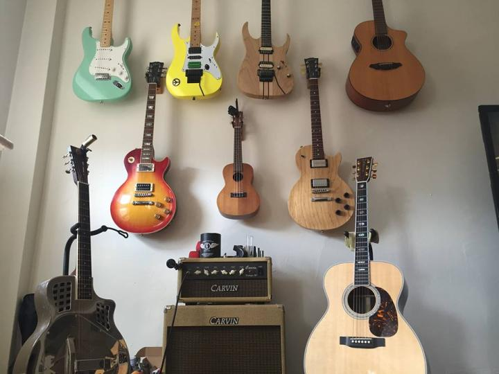 A small portion of Lou's collection.