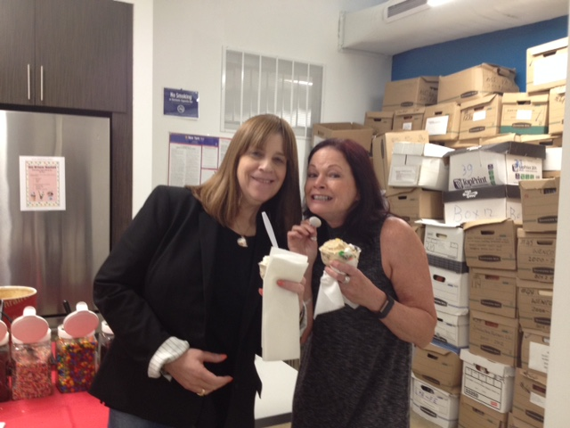 Atara Goldgrab and Wendy Strauss
