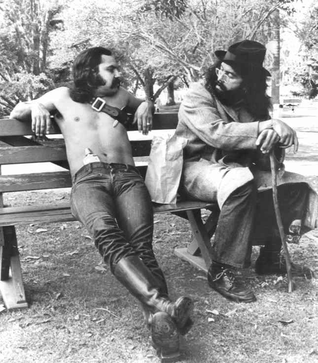 "Richard ""Cheech"" Marin and Tommy Chong.  Source"