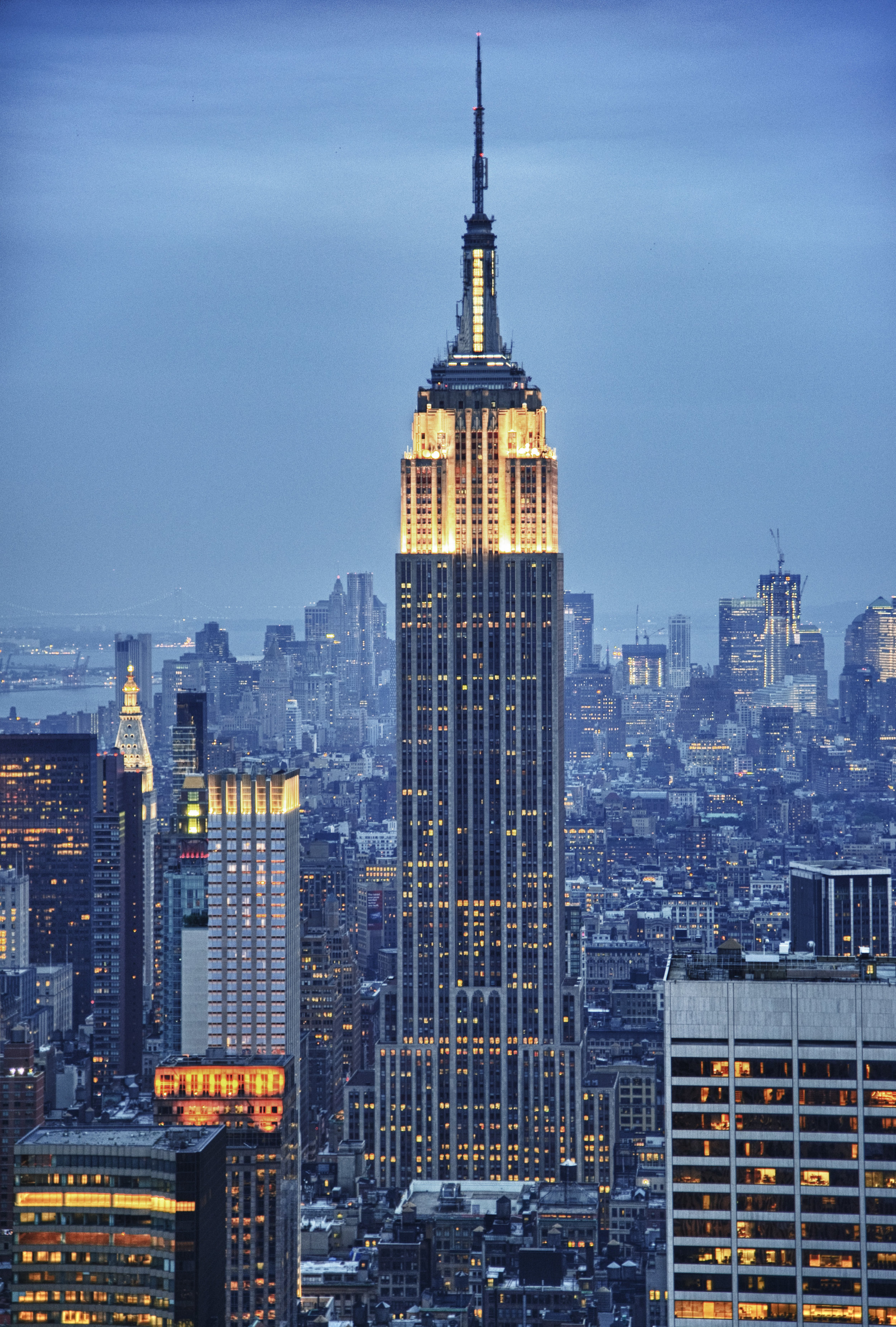 Empire State Building (Eric Kilby, Flickr)  Creative Commons License via Wikimedia Commons.