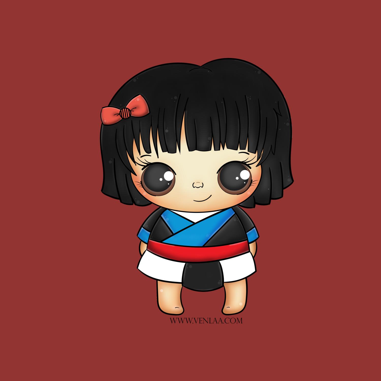 venlaa-background-short-hair-hmonggy-HmongArt.png