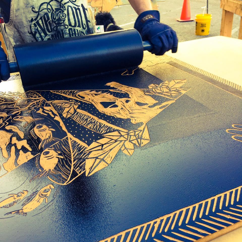 Steamroll Printing