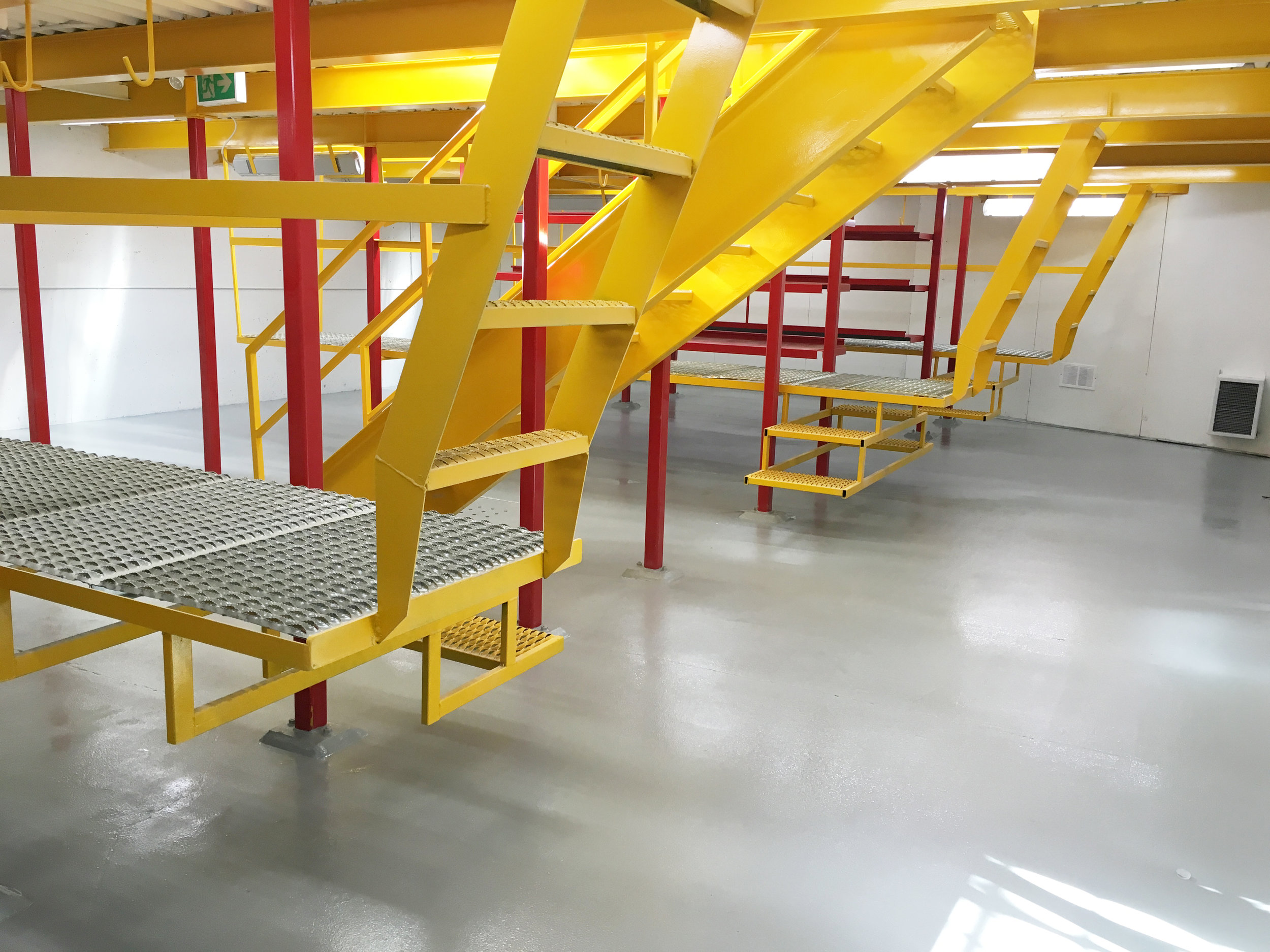 Jiffy Lube - full interior painting and epoxy floor coating