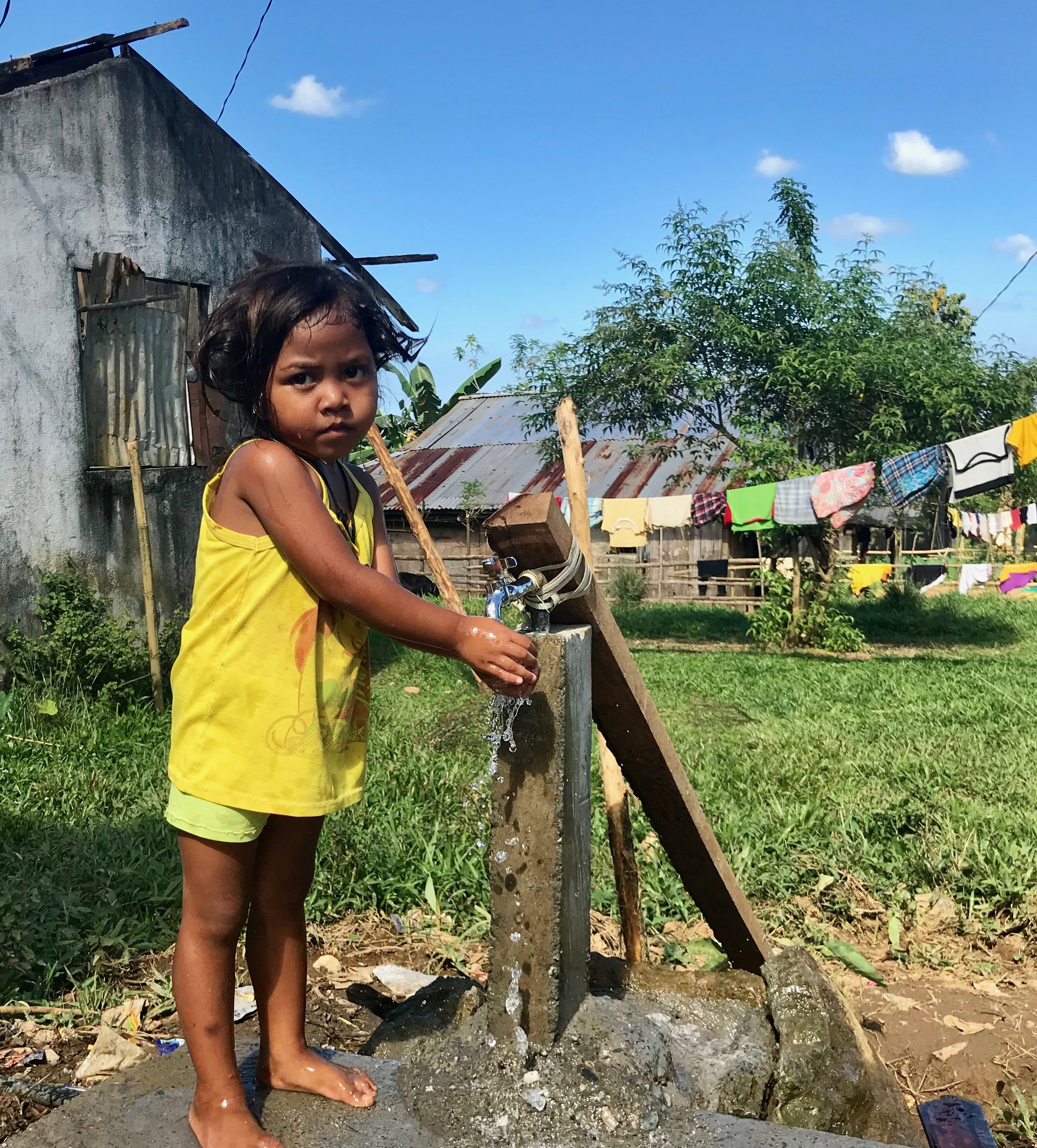 Why did we choose the Philippines for our first project? - Because of an example that was set.