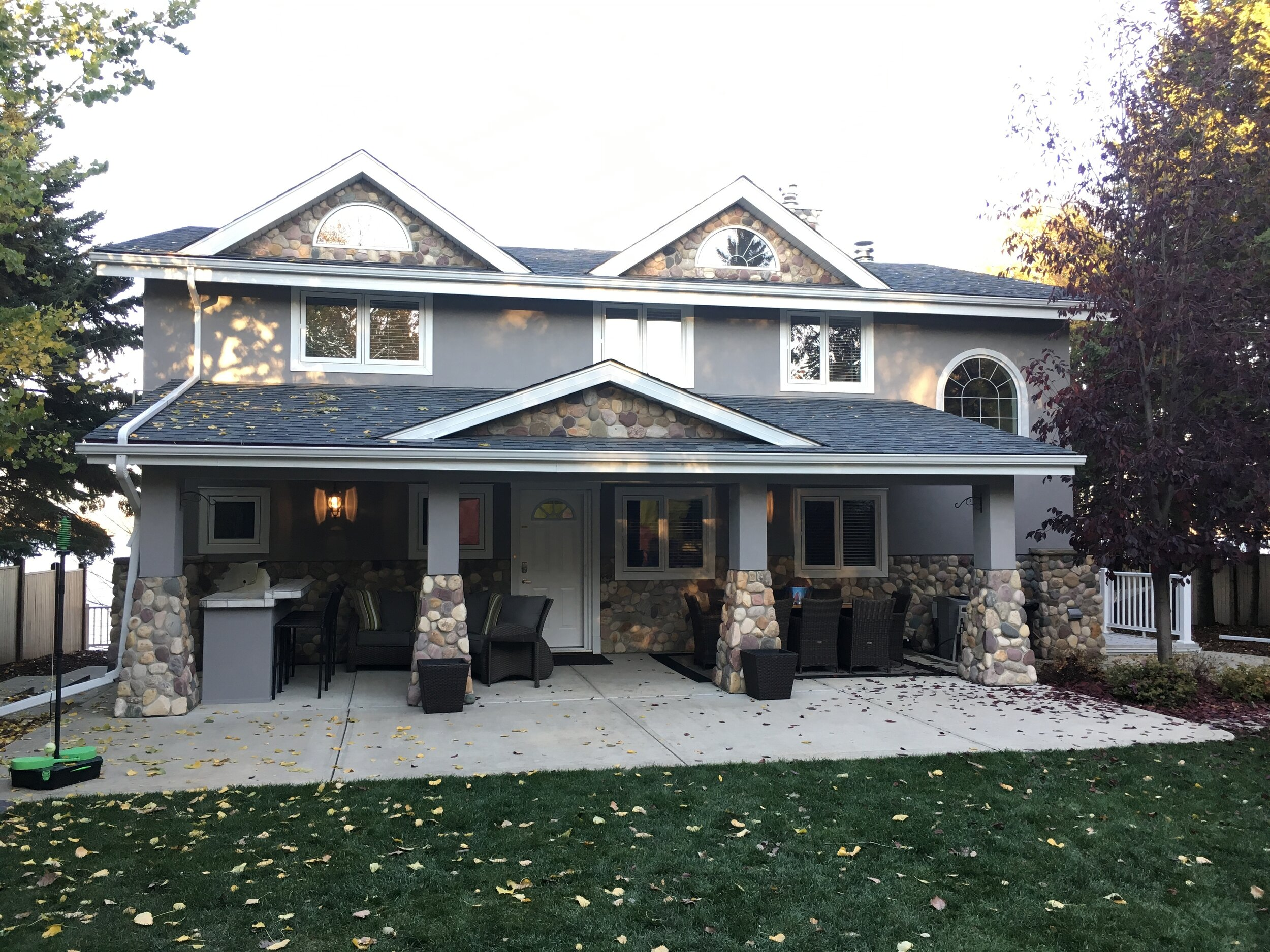 Painted stucco - can change the way you feel about your home.