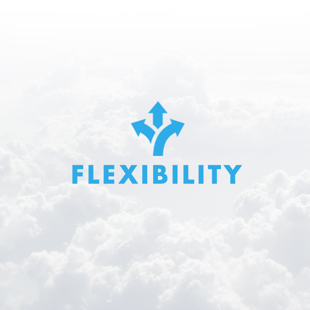 Optimism leads to flexibility. As a new company in our ever changing industry, inflexibility will lead to frustration and disappointment.
