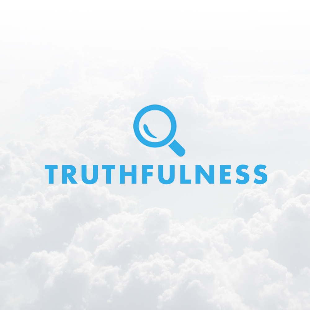Without truth you leave room for distrust to creep in. When distrust creeps in you lose credibility and undermine your ability to cast a vision and persuade.