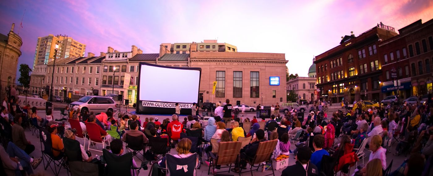 Movie in the Square, Downtown Kingston