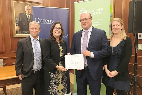 Queen's University Announces Partnership with Sustainable Kingston