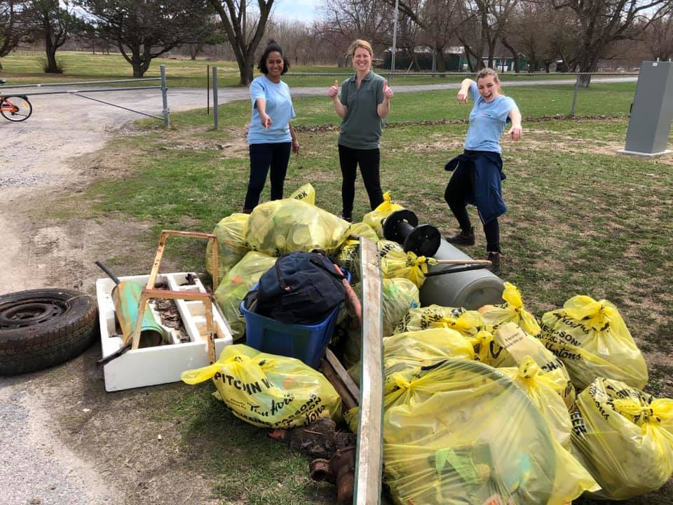 Pitch-In Kingston Community Clean-Up