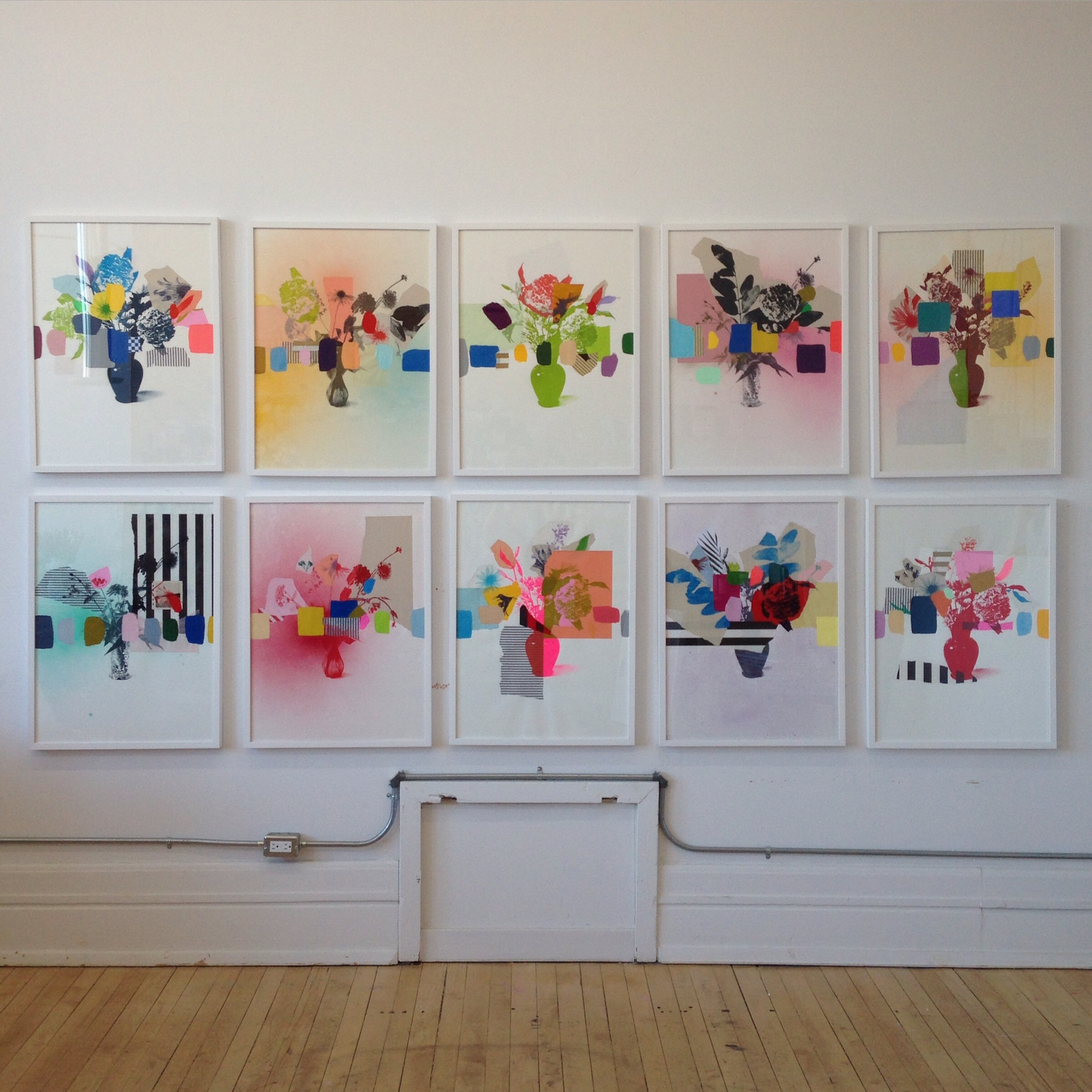 Emily Filler's Studio display