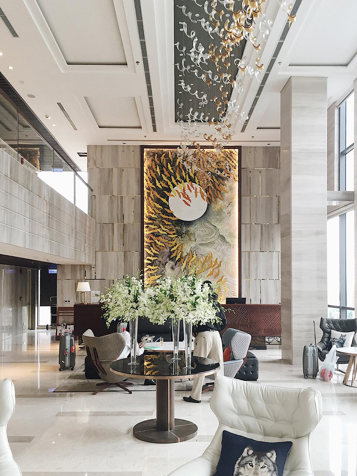 Sảnh khách sạn New Orient Danang