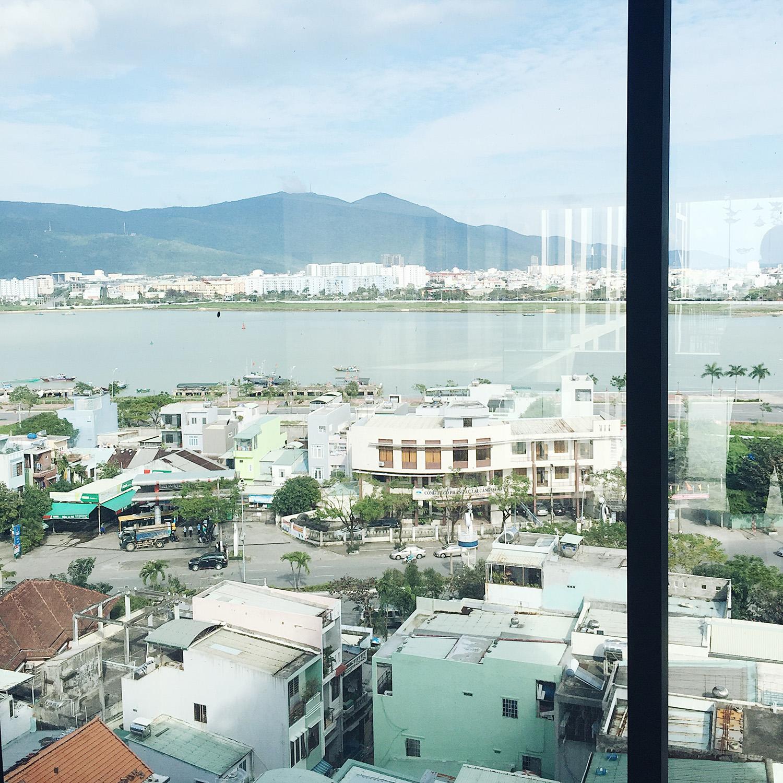 View từ tầng 7, khách sạn New Orient