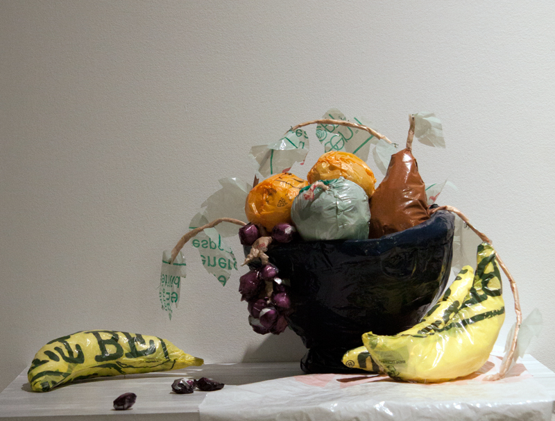 Still Life with Plastic Bag Fruit