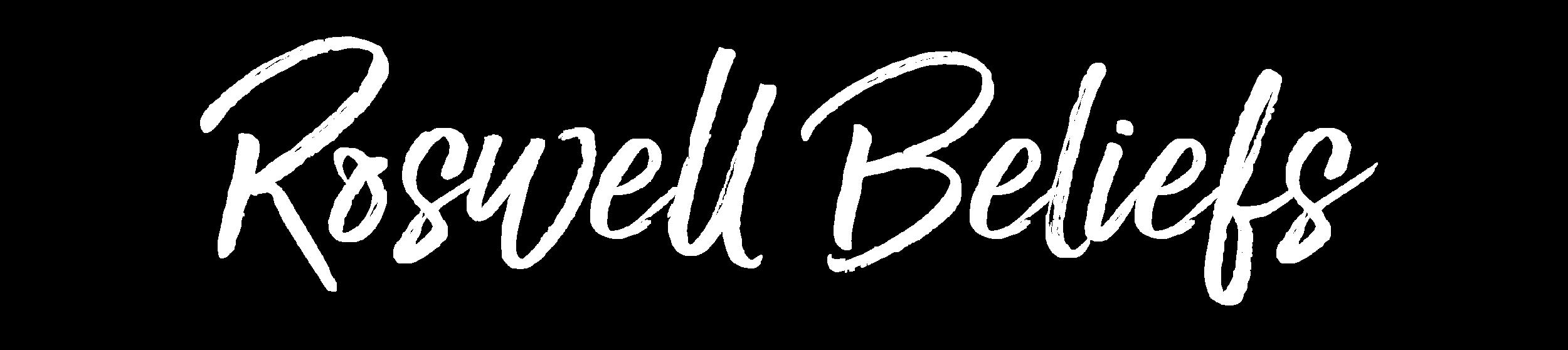 Roswell Beliefs