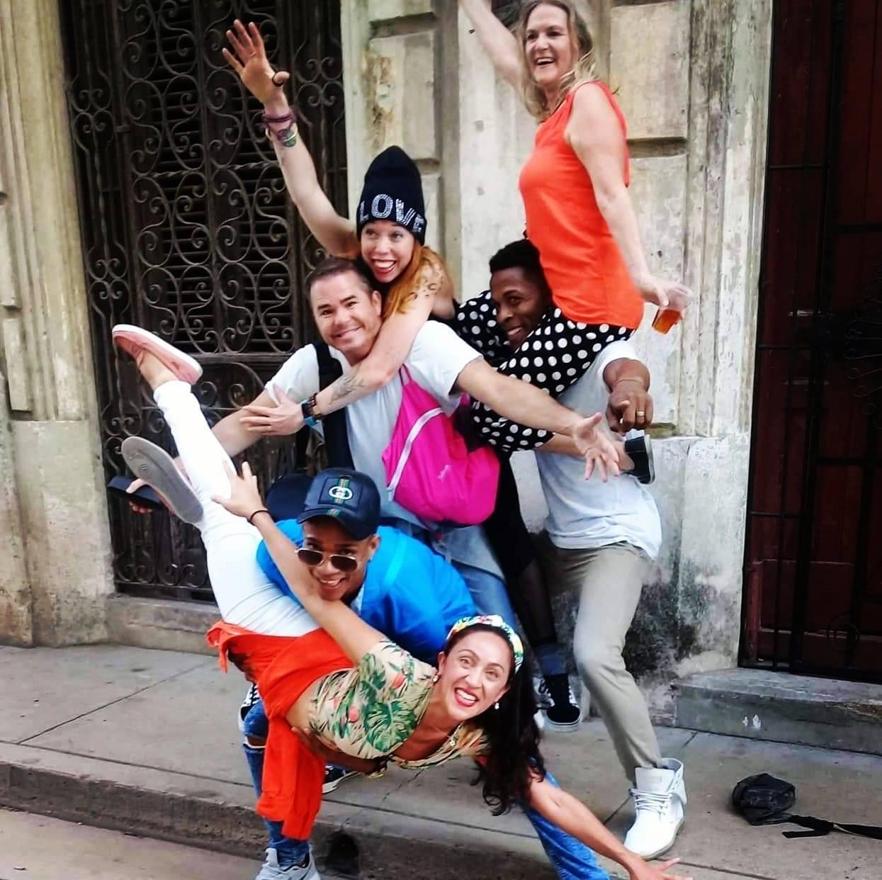 Dancing down the streets of Havana… Everyone welcome!!!