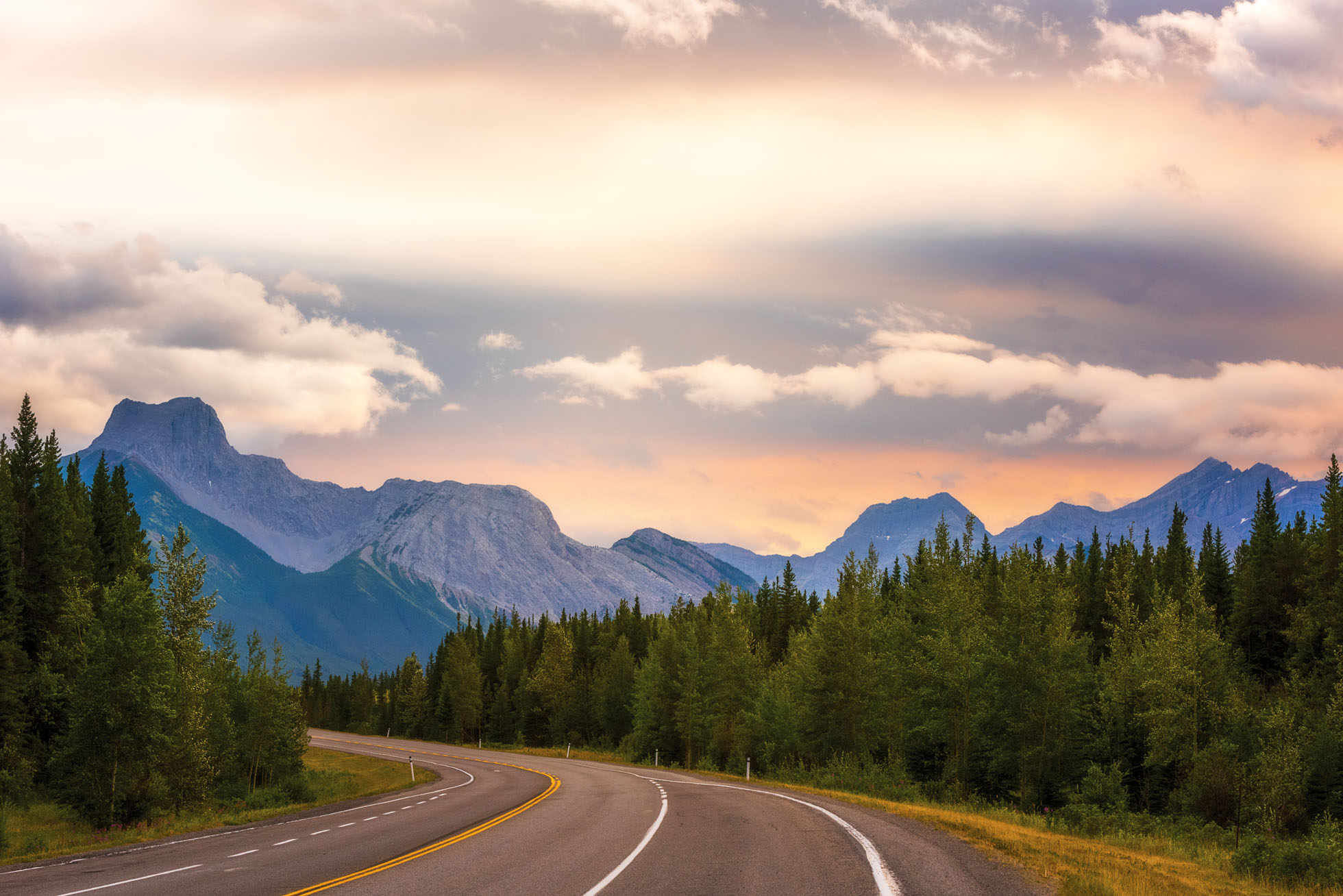 The Road to Kananaskis Country