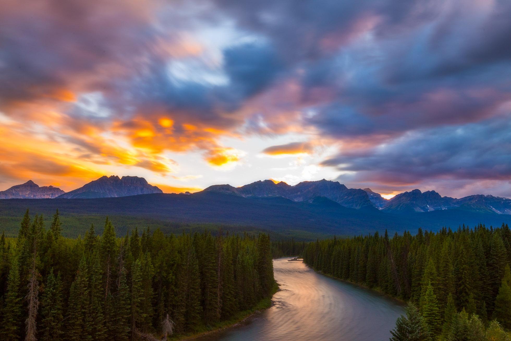 Sunset at Storm Mountain