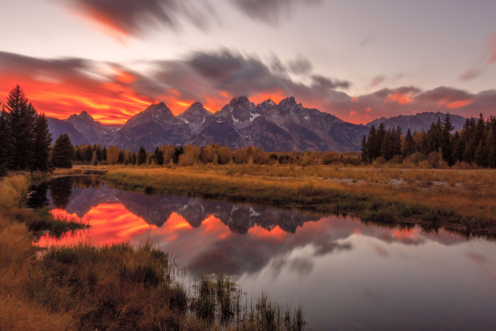 60 seconds in Grand Teton National Park - using a 10 stop filter.