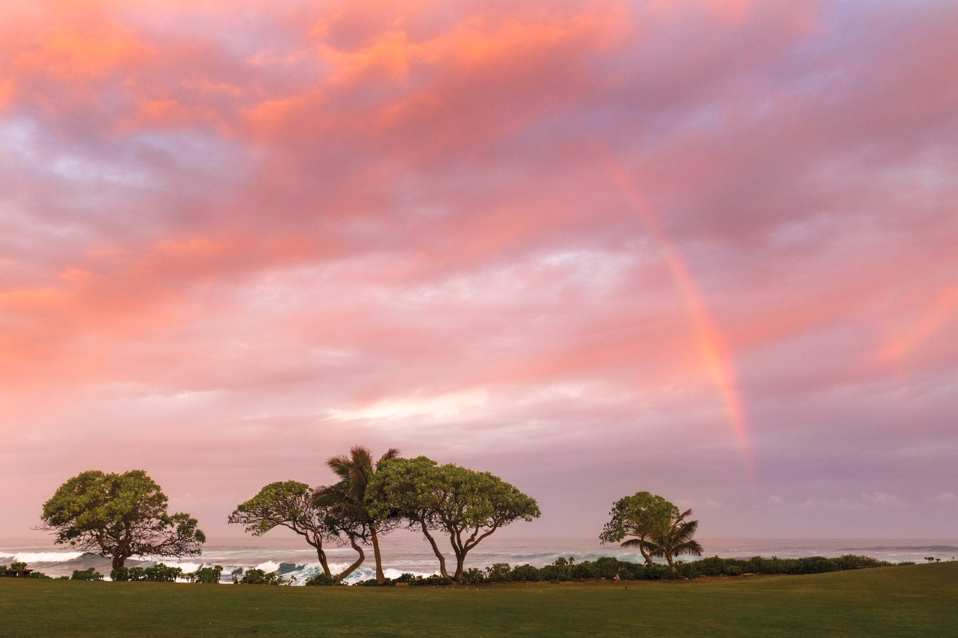 Magical morning in Oahu, Hawaii