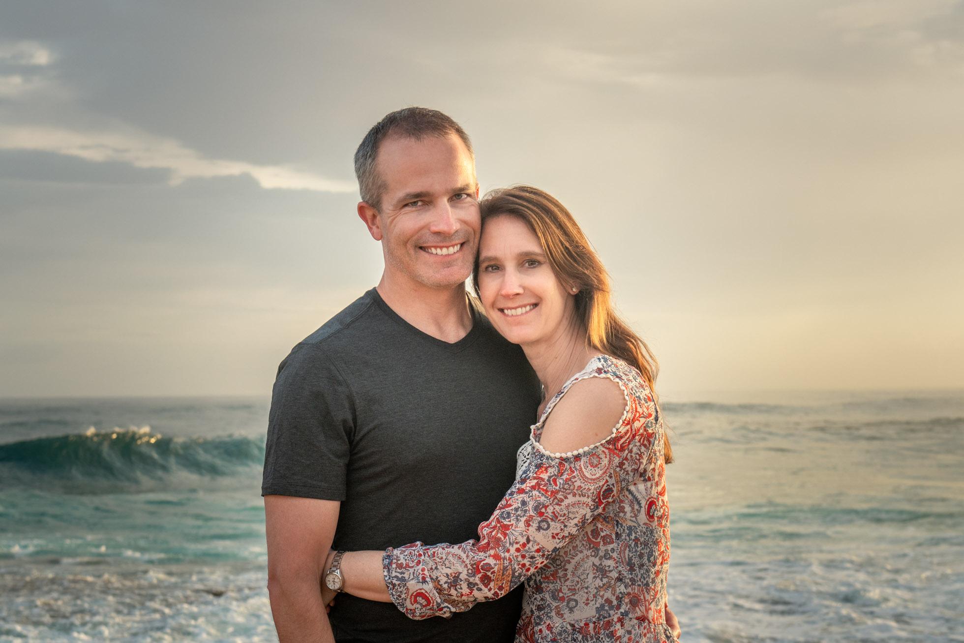 My handsome husband and I in Oahu