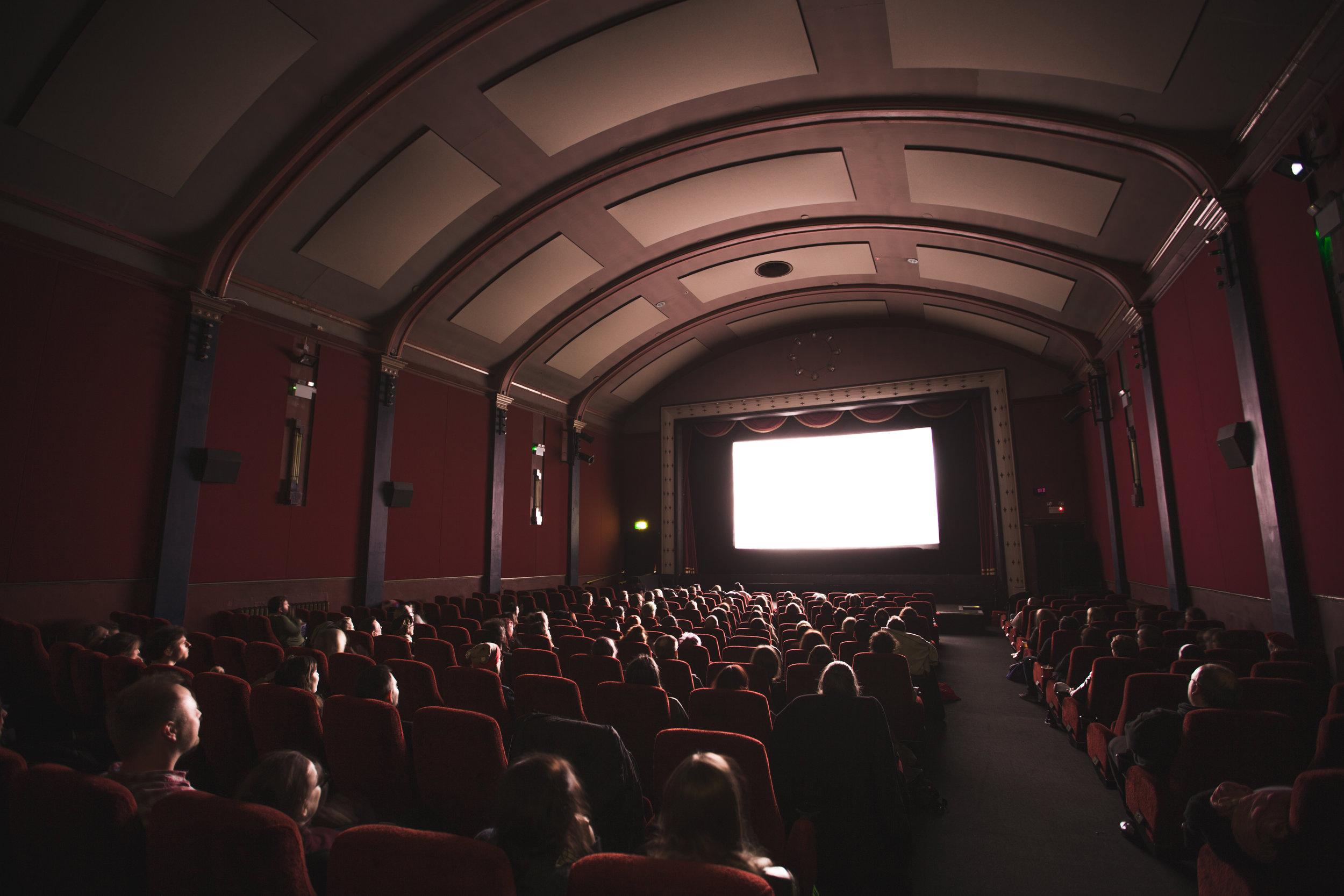 movie theater -