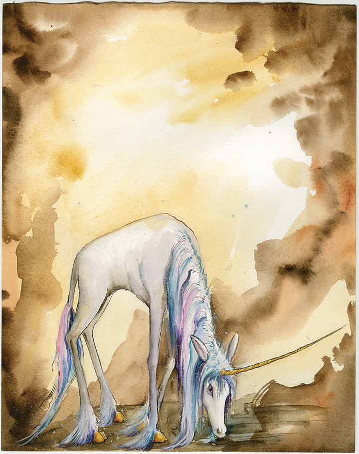 Unicorn Facing Page
