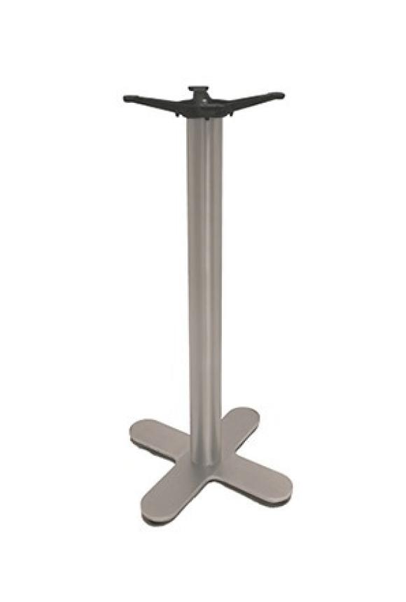 Chrome Rnd Column/X Base - BAR