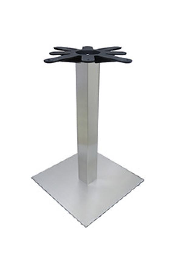 Chrome Sq Column/Sq Base - DINING