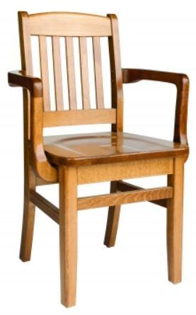 Arm - Wood Seat
