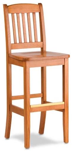 Barstool - Wood Seat