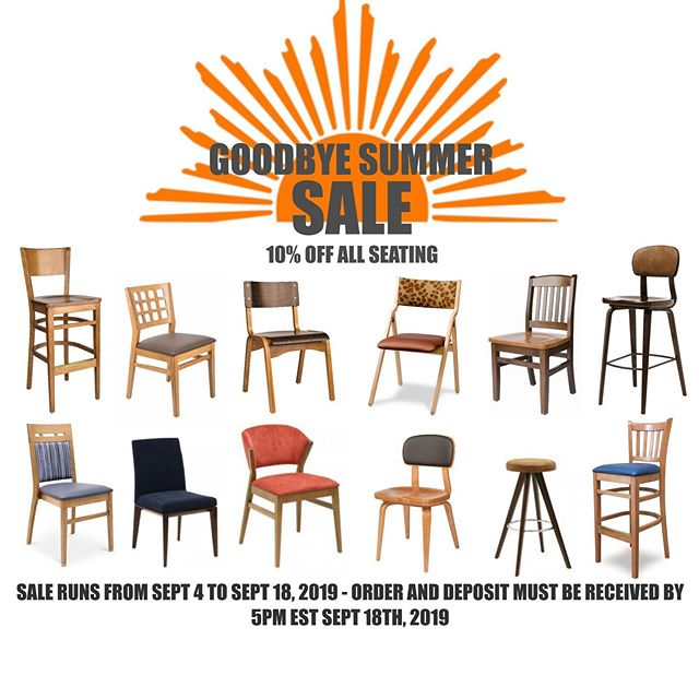 I had to wear a hoodie today. So, it's that time again. 🇨🇦 LOCALE Goodbye Summer Sale - 10% off all seating from September 4th until Sept 18th. If you need a Fall Refresh for your venue, shoot us an email - info@localecontract.com  #restaurantfurniture #breweryfurniture #brewpub #restaurantchairs #barstools #commercialseating #contractseating #restaurantseating #pubchairs #brewery #woodchairs #industrialchairs #restauranttables #barfurniture #brewing #craftbeer #craftbrewing #patiofurniture #sittinpretty