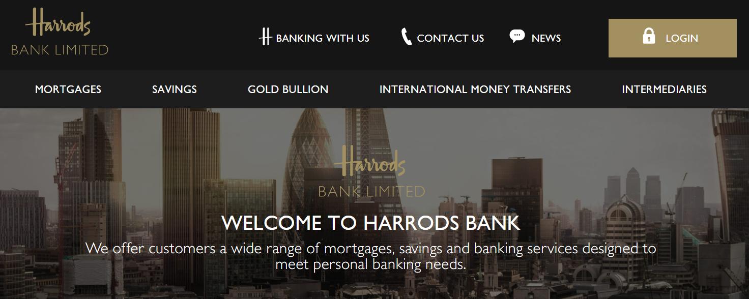 Source: Harrods Bank
