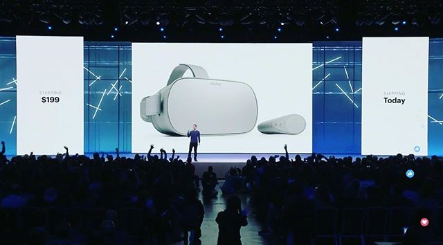 @oculus Go Ships Today!!! The easiest way to experience VR. No PC required. #oculusgo #oculus #f82018