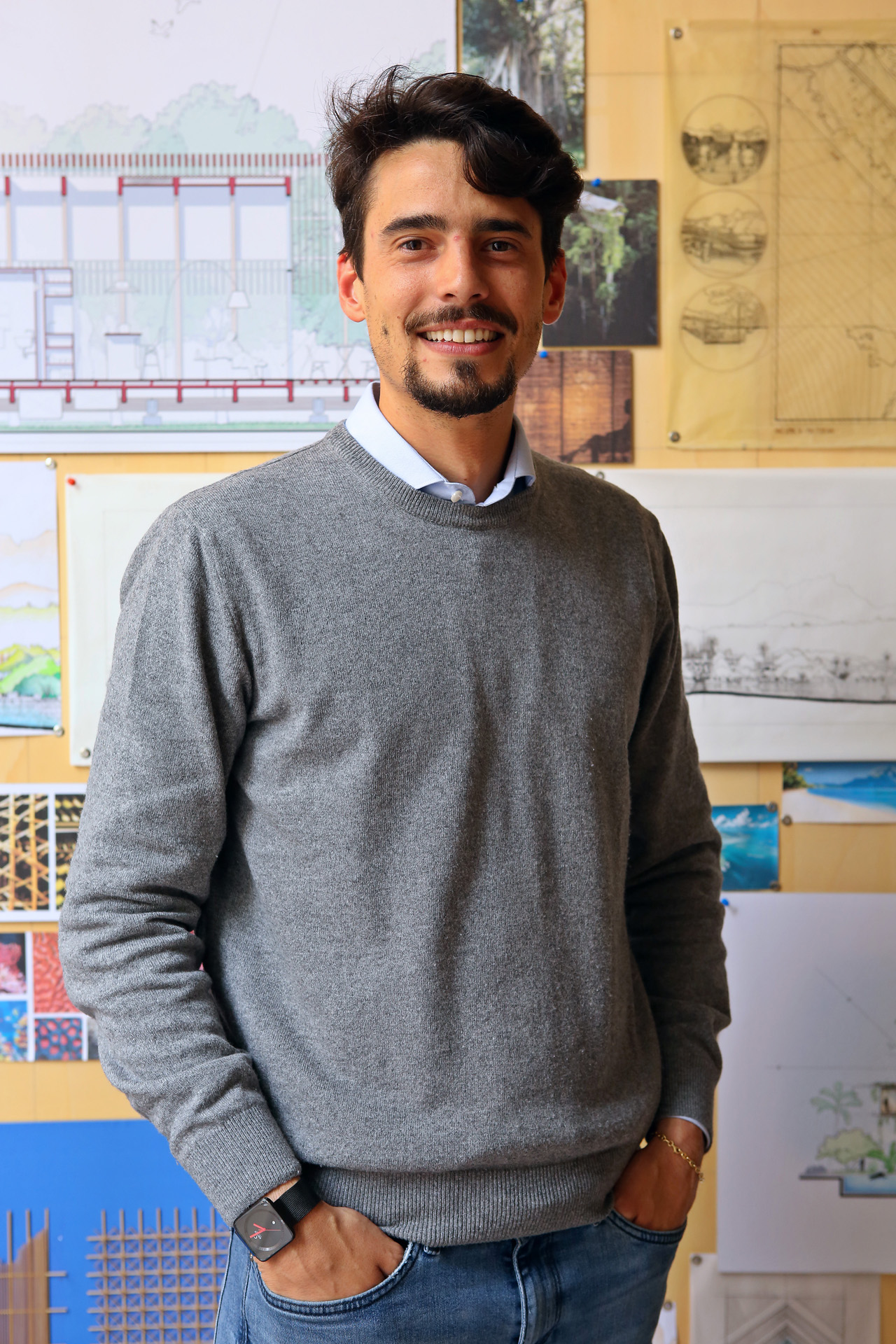 Attilio studied architecture at Polytechnic School - UNIGE in Genova. His thesis  Bagwall handbook  was shortlisted for the Young talent architecture award 2016 edition.