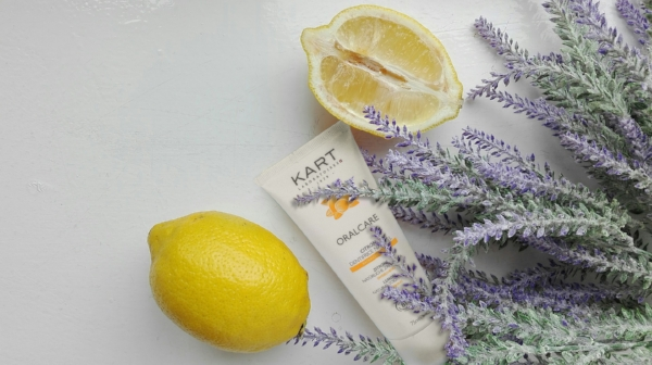 KART Lemon toothpaste