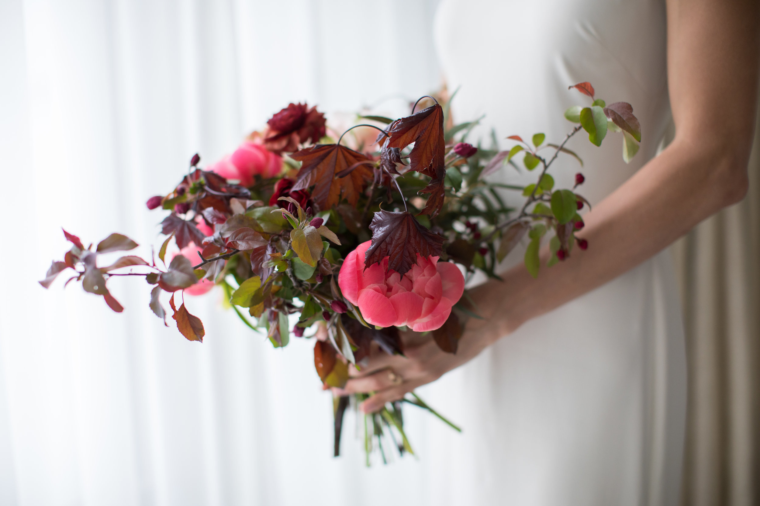 Midwest wedding photographer - flower bouquet