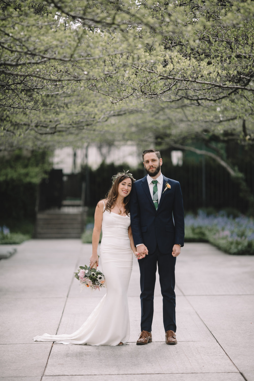 Wedding portrait by Jaclyn Simpson