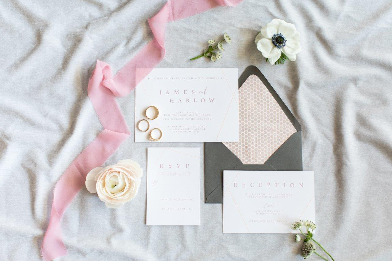 Wedding and engagement photography - flatlay
