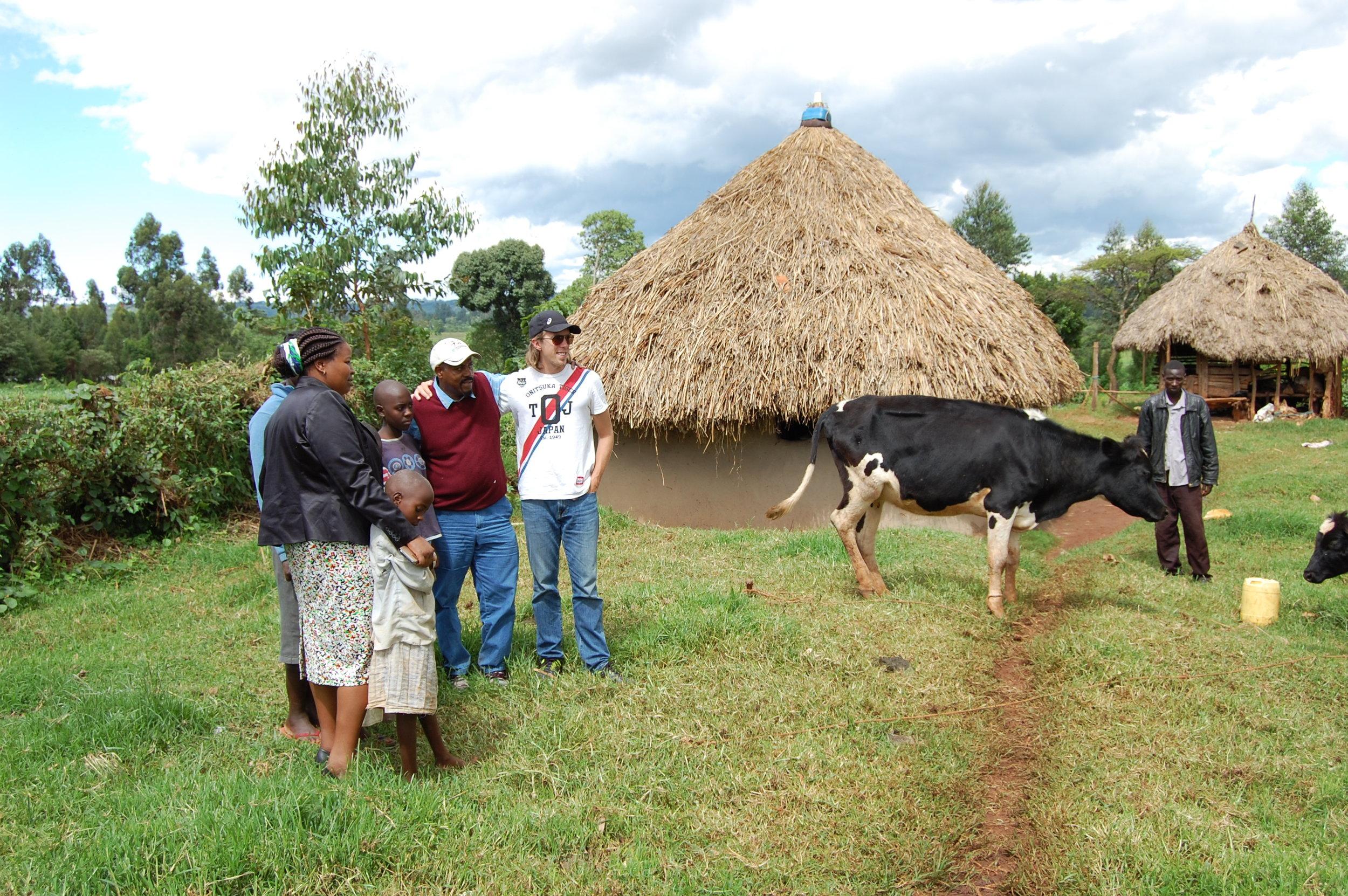 CWA Cow Ceremony in Kenya