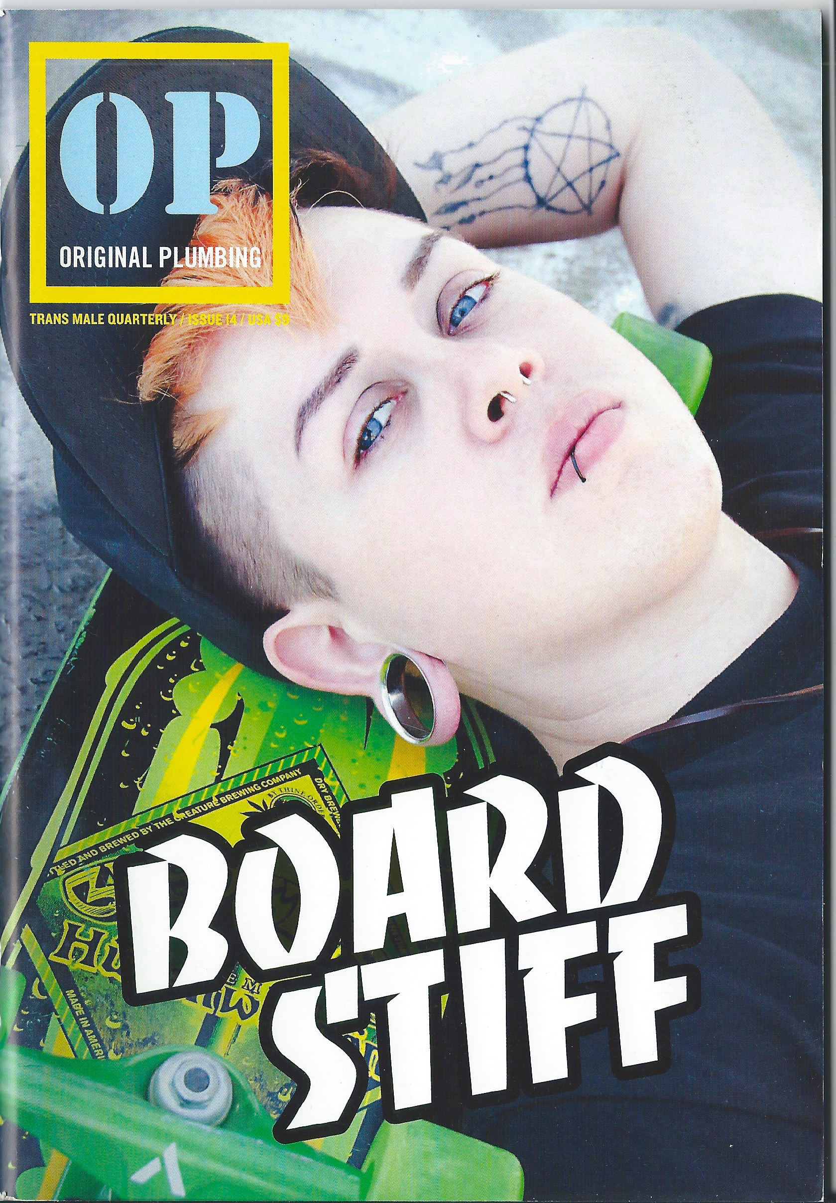 OP #14, Cover photo by Ev Marquee