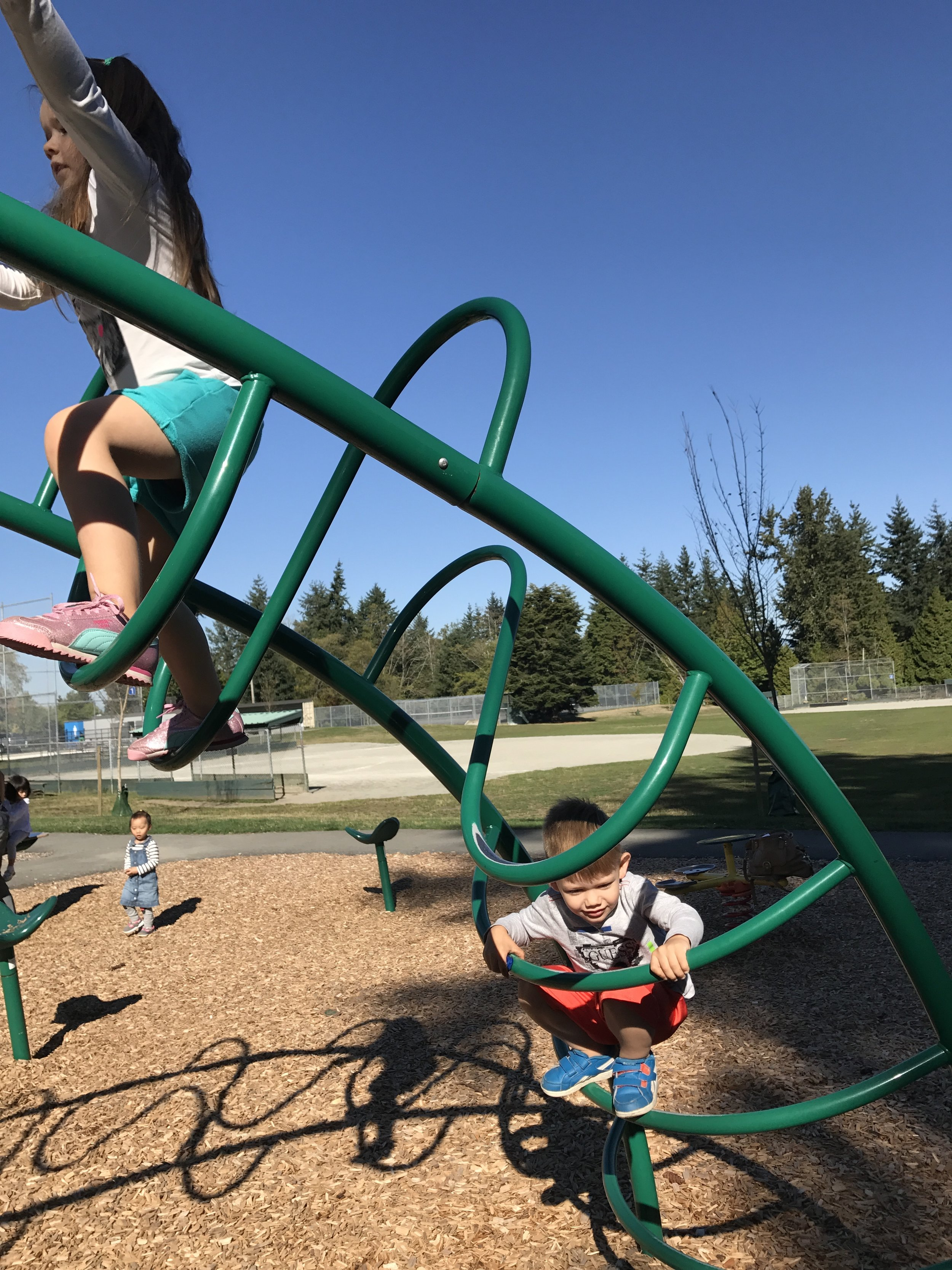 So many activities for little climbers can be found at Sunnyside!