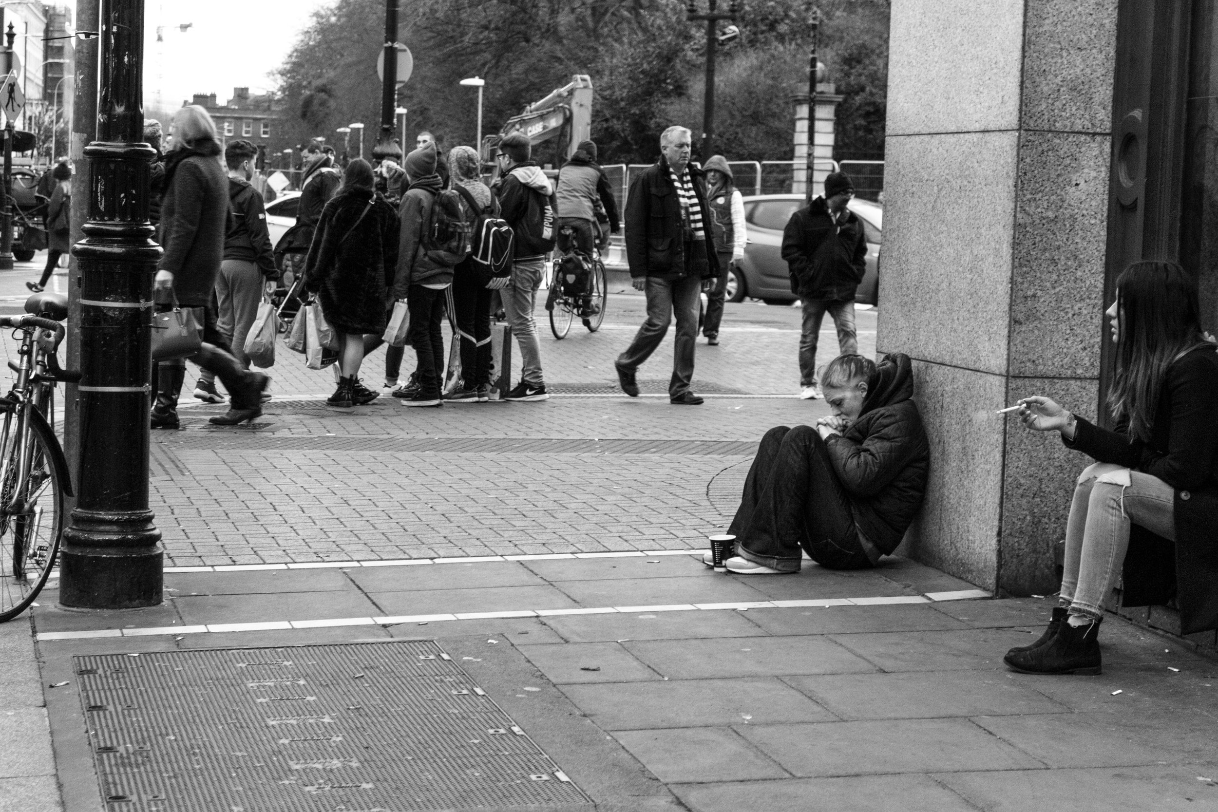 Homeless in Dublin