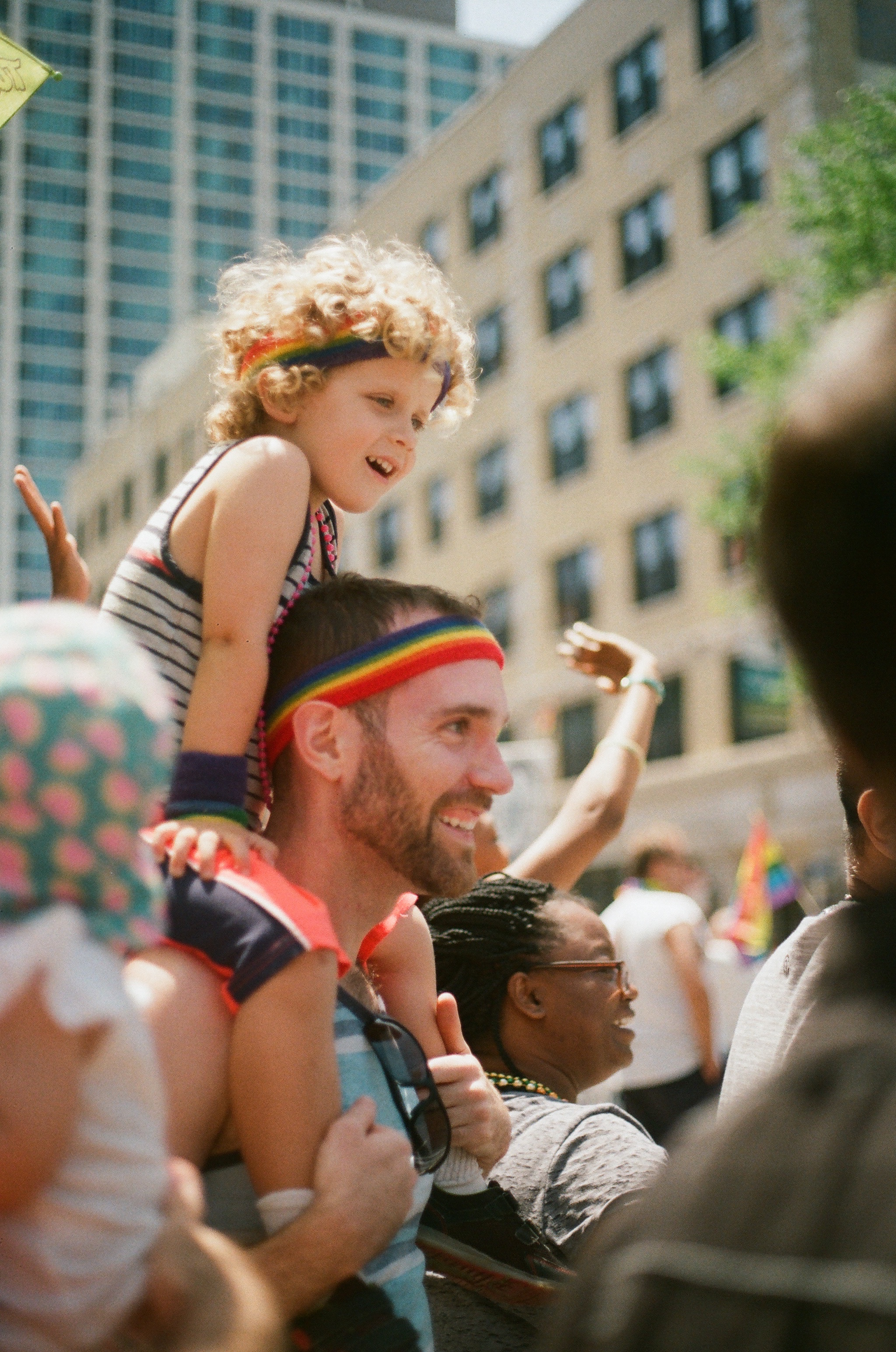 Chicago Pride Parade, 2018 35mm